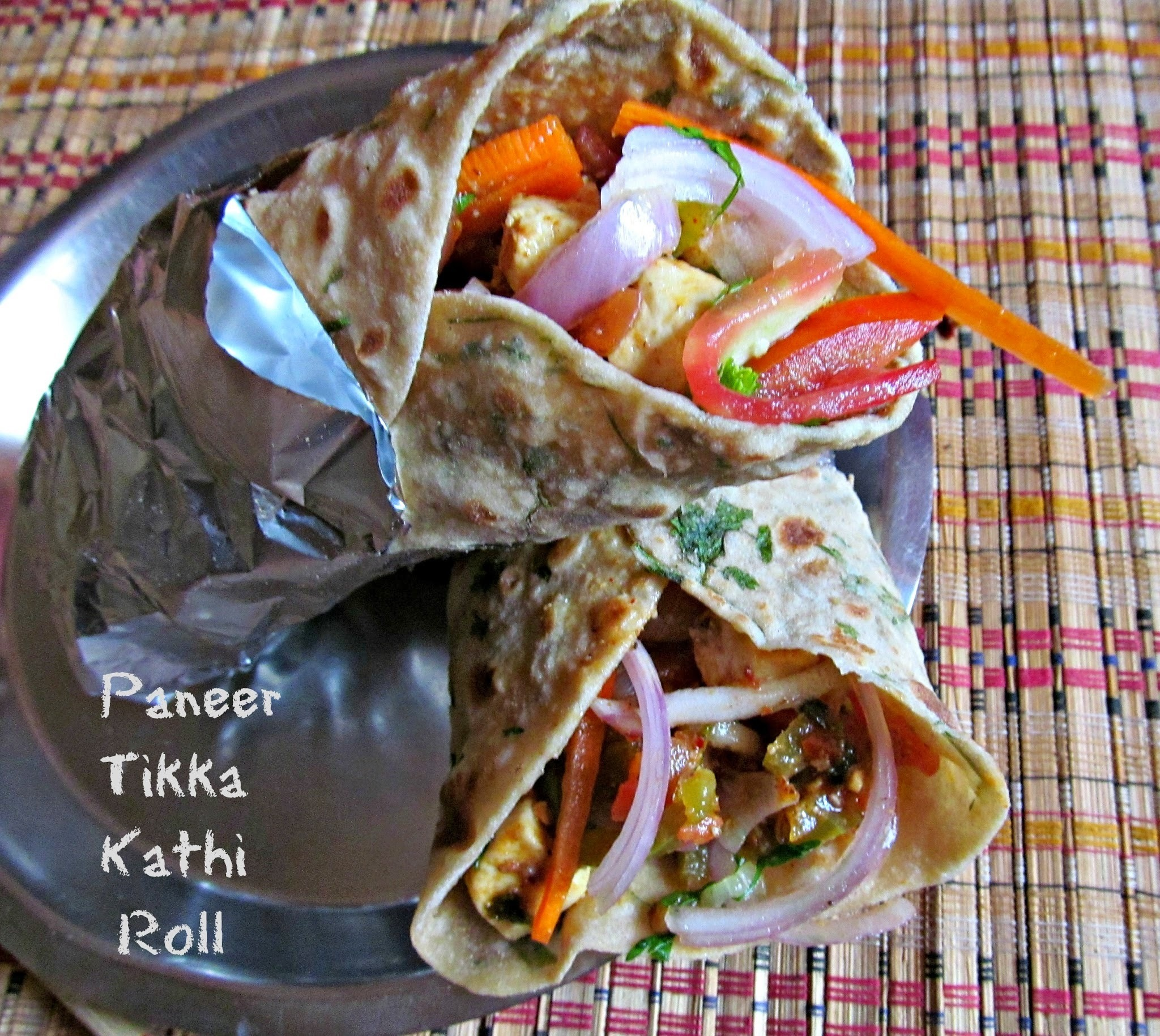 Paneer Tikka Kathi Roll – SNC April Challenge for Southern Team