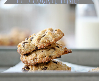 It's Cookie Time! Tahini - Chocolate Cookies