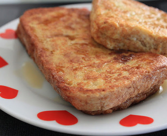 ♥ Eggy Bread French Toast ♥