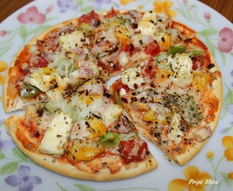 Veg Pizza / Easy Pizza dough recipe / Pizza Base Recipe