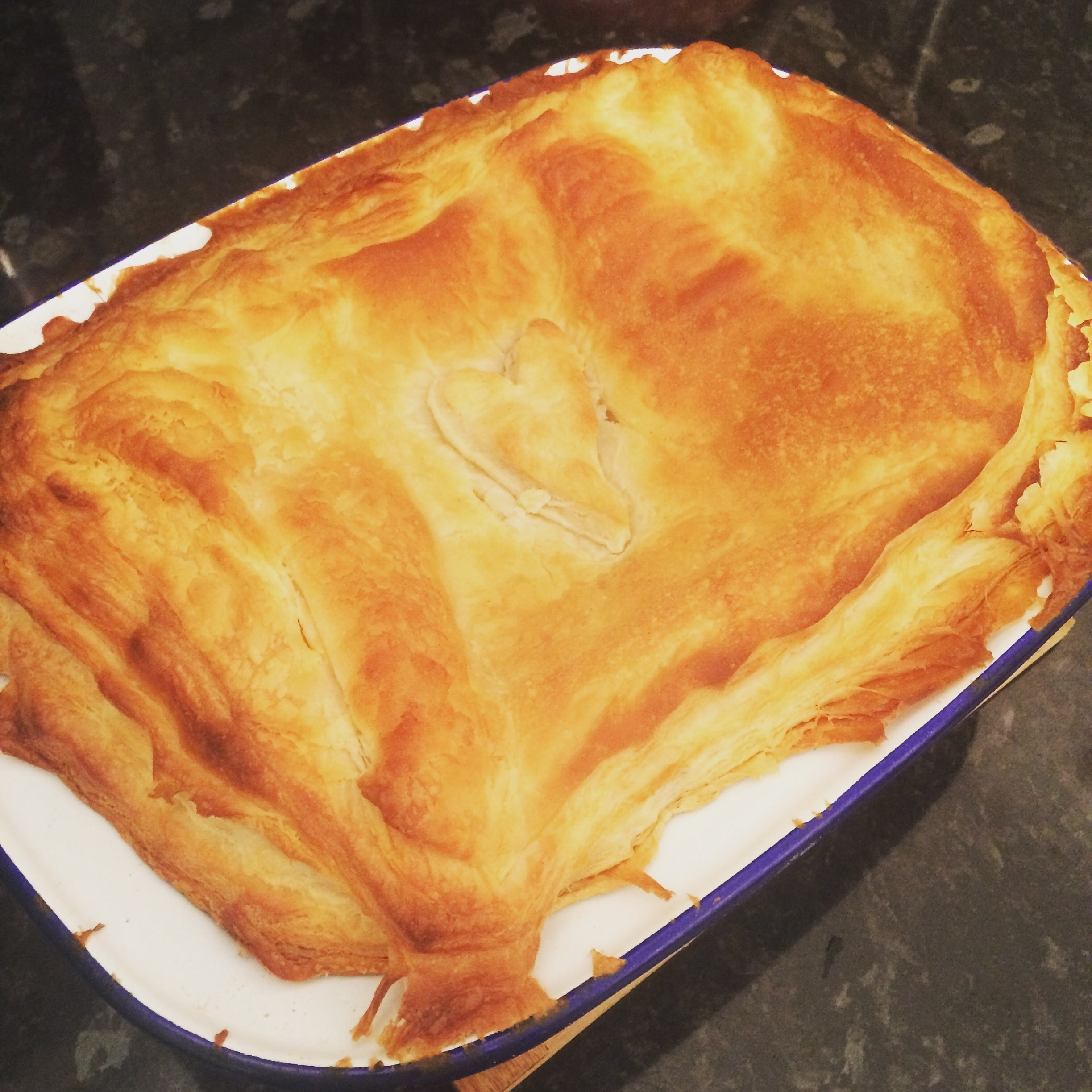 Recipe: Chicken & Bacon Pie