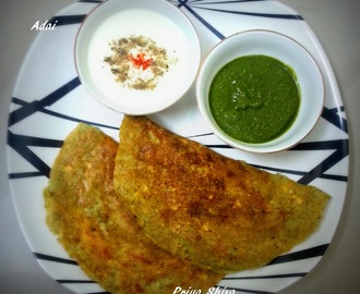Adai / Adai with goodness of Kodo Millet
