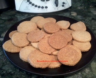 Galletas de frutos secos en thermomix