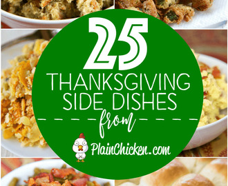25 Family Favorite Thanksgiving Side Dishes