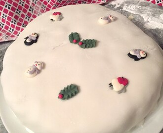 Ginger Christmas Cake with Opies Foods