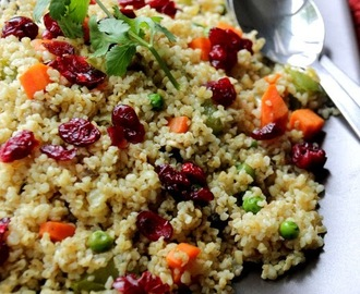 Quinoa Pilaf or Cracked Wheat Pilaf - My Weeknight Staple
