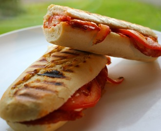 Chorizo and Mozzarella Panini for Toddlers