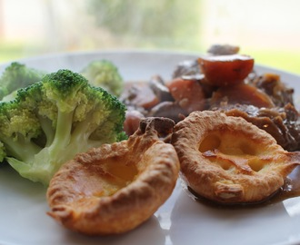 Mini Yorkshire Puddings for Babies and Toddlers