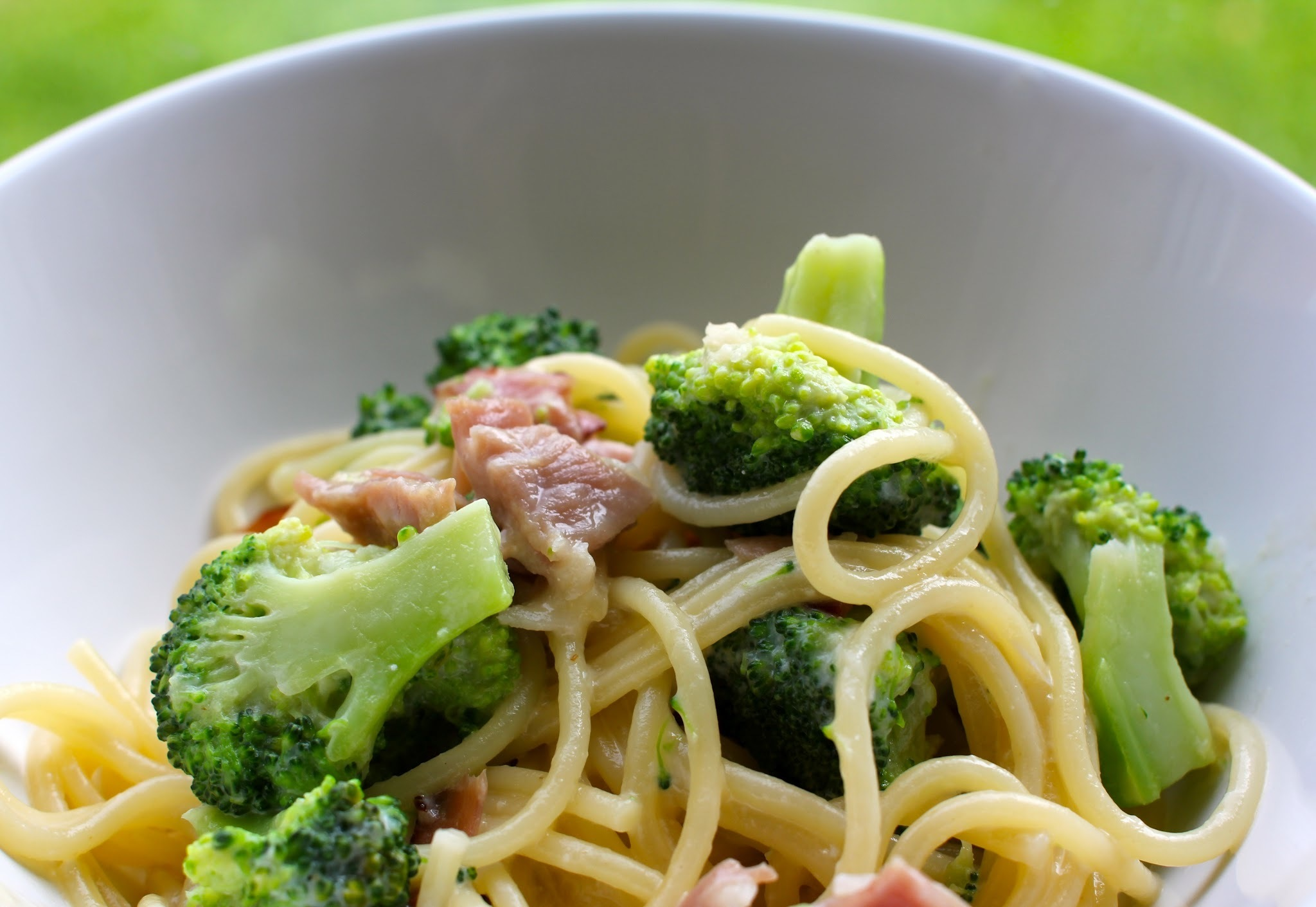 Broccoli and Ham Pasta