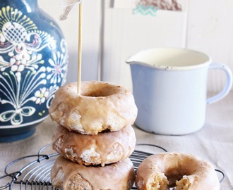 Marzipan Zimt Donuts