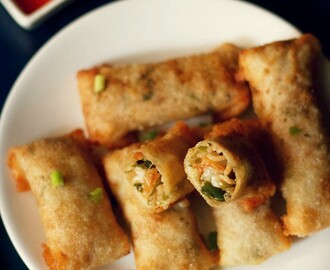 spring rolls recipe, how to make veg spring rolls recipe