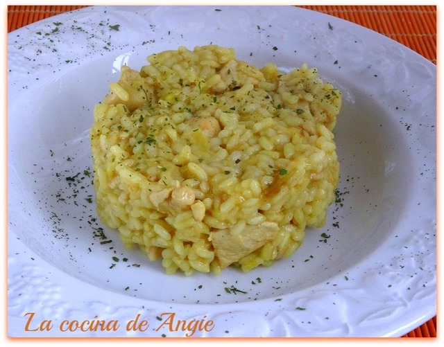 ARROZ CON POLLO AL CURRY (Olla GM)