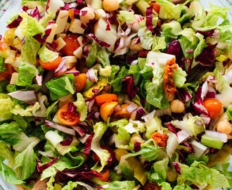 Vegetarian Italian Chopped Salad