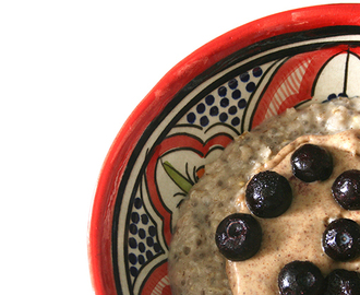 'Supercharged' Coconut Chia Porridge