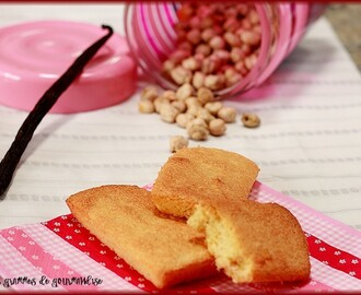 Financiers aux pois chiches #sans gluten