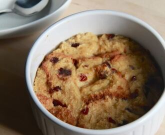 bread pudding.