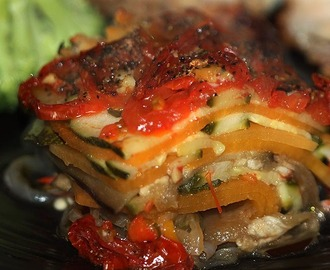 Spicy Layered Mediterranean Vegetables
