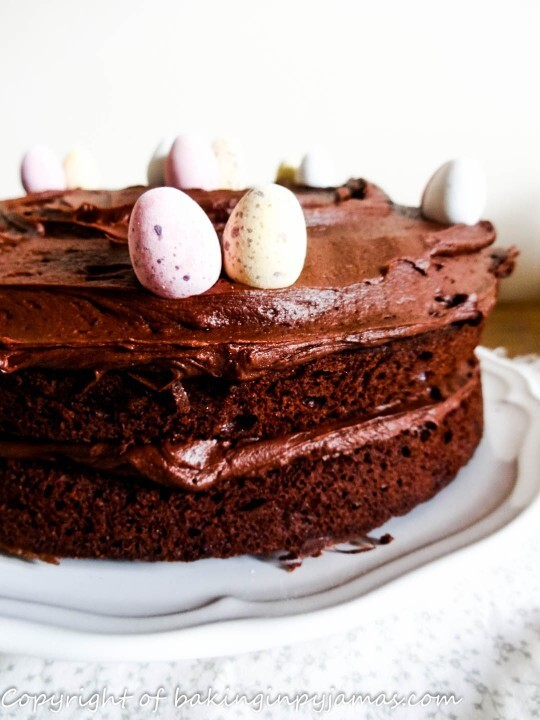 Mini Egg Easter Chocolate Cake