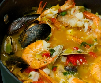 Saturday Dinner: Mediterranean Fish Stew