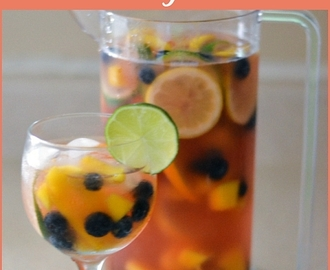 Easy Pink Moscato Sangria Recipe