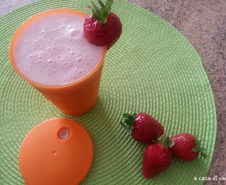 SMOOTHIE FRAGOLA E BANANA