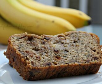 Egg Free Chocolate Chip Banana Bread