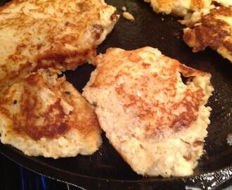 Gluten-Free Cauliflower Cheese Pancakes and Xtrema Wok Giveaway, $134.99 value!