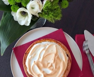 Orange Meringue Pie (crostata meringata all'arancia)