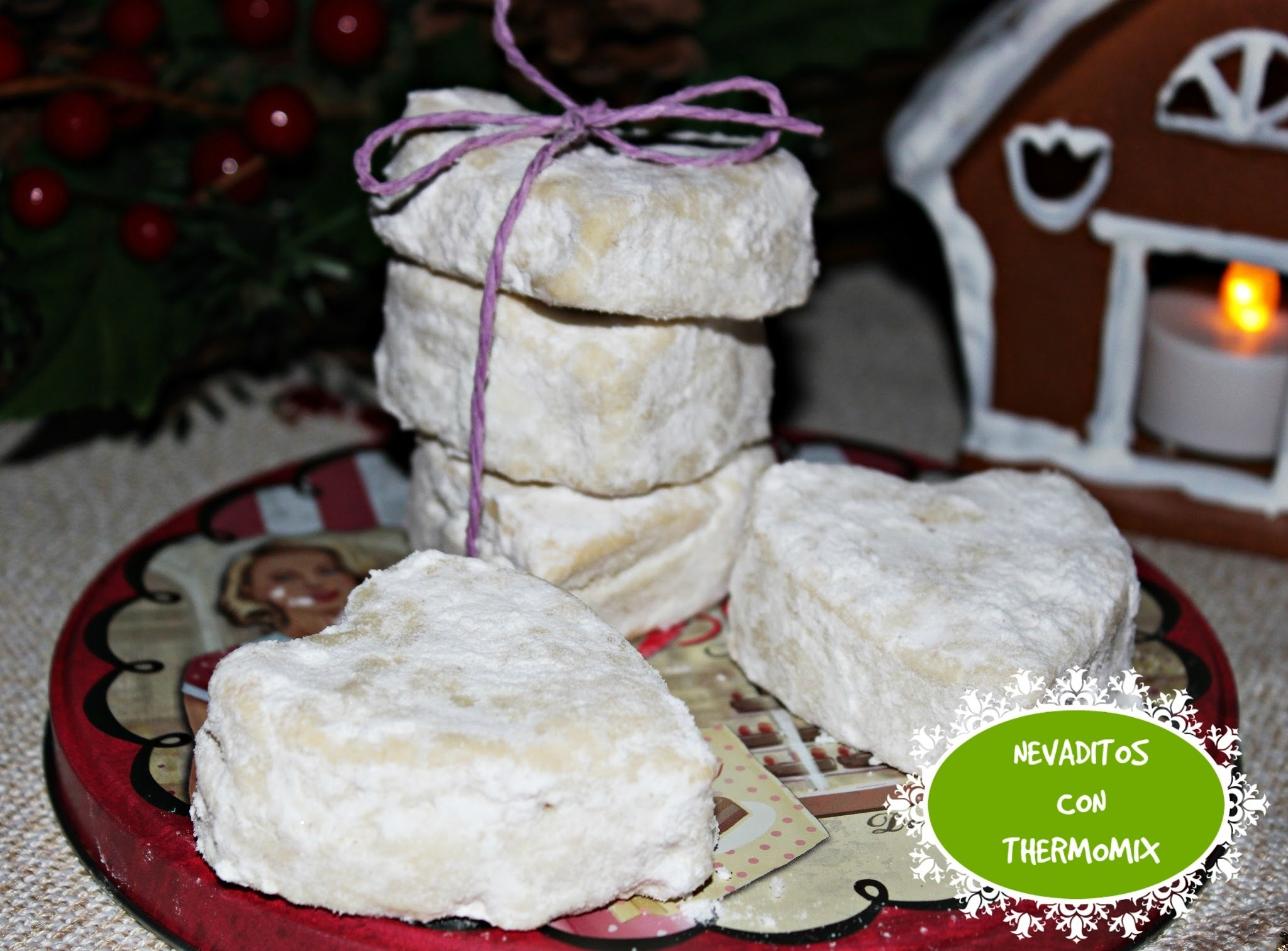 NEVADITOS CON THERMOMIX