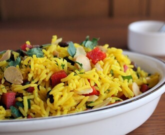 Indian Spiced Rice Salad