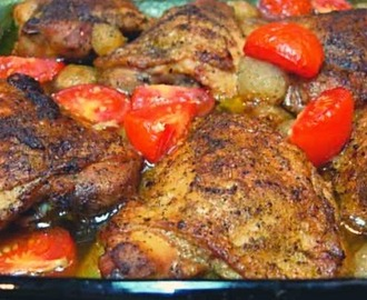 Southern Style Baked Chicken
