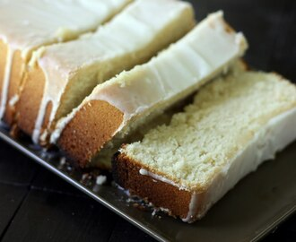 Buttermilk Pound Cake & Big News