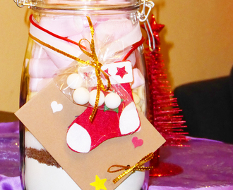 Cookies in a jar | Preparado de galletas para regalar