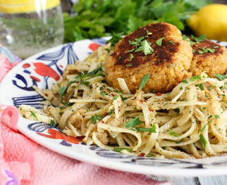 Crab Cake Linguini