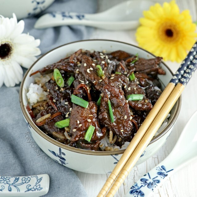 Mongolian Beef Easy Recipe