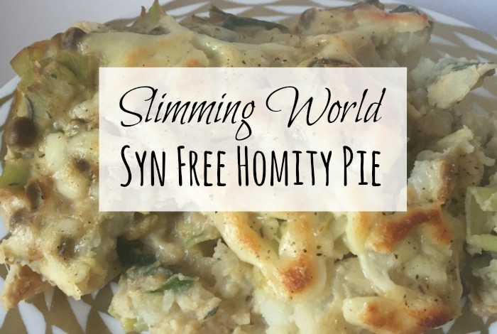 Slimming World Homity Pie – the best comfort food you'll eat….