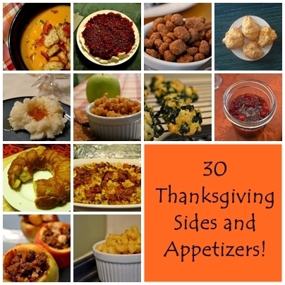 30 Thanksgiving Sides and Appetizers!