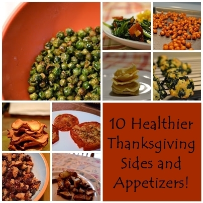 10 Healthier Thanksgiving Side Dishes and Appetizers!