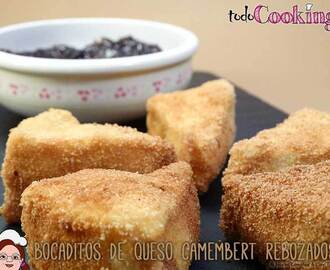 Bocaditos de queso camembert rebozados