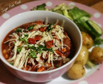 Slimming World Friendly Recipe:- Slow Cooker Mexican Chicken Stew