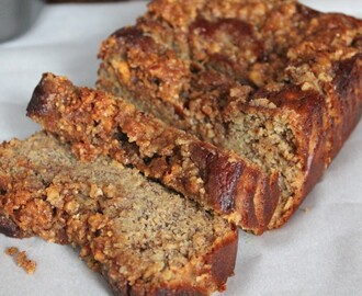 Paleo Coffee Cake Banana Bread