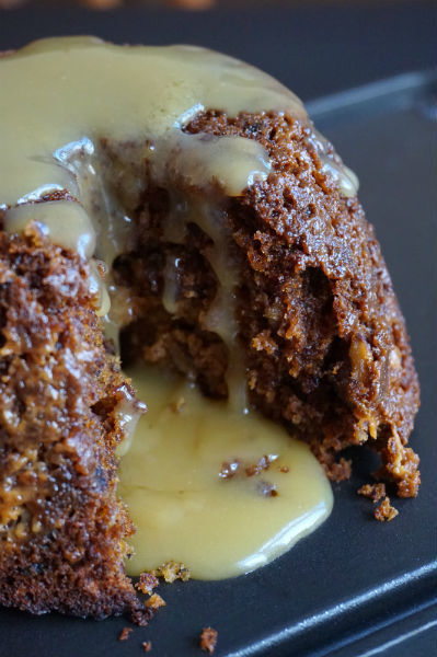 Sticky Fudge and Pecan Pudding