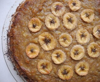 Baked Banana Pie
