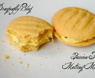 Passion Fruit Melting Moments - Biscuit recipe