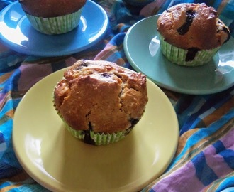 MUFFIN DI FARRO AI MIRTILLI