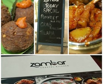 Going Places!! The All New Zambar at Cyber Hub, Gurgaon