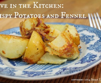 Crispy Potatoes and Fennel on #4 of Kick Off to Summer Week with a #WorldMarket Giveaway!