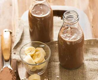 Chocolate Banana Oats Smoothie