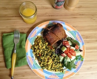 #MeatlessMonday: G-BOMBS Tofu Scramble!