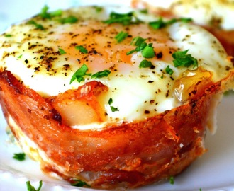 Bacon, Egg & Toast cup